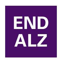END ALZ logo