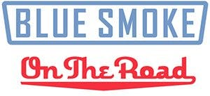 Blue Smoke on The Road Logo