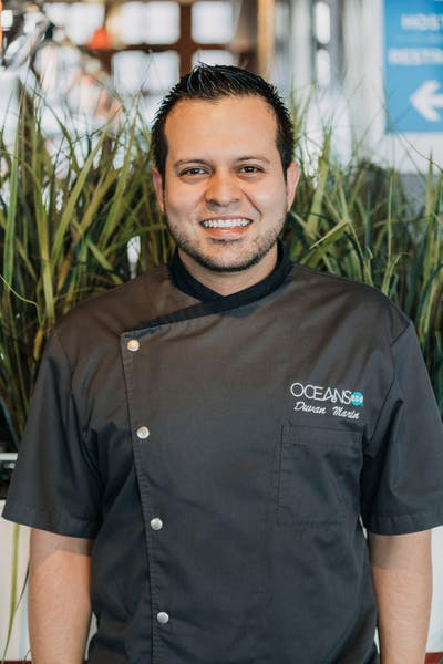 Duvan Marin, Sous Chef at Oceans 234