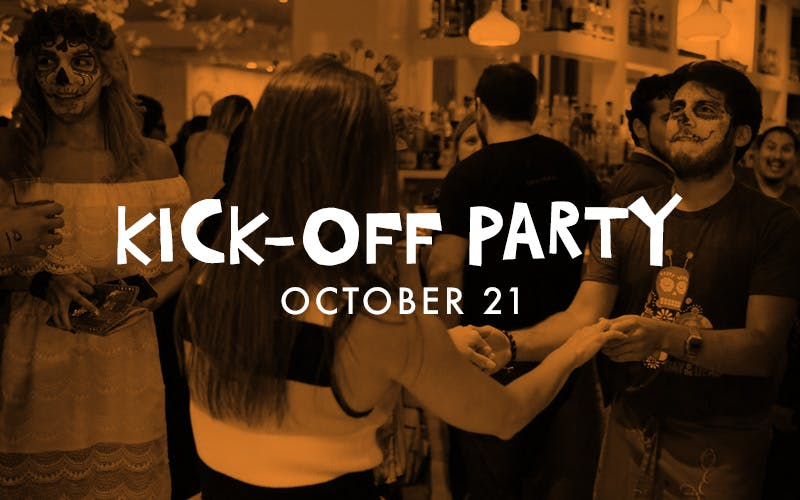 Day of the Dead Kick-off Party