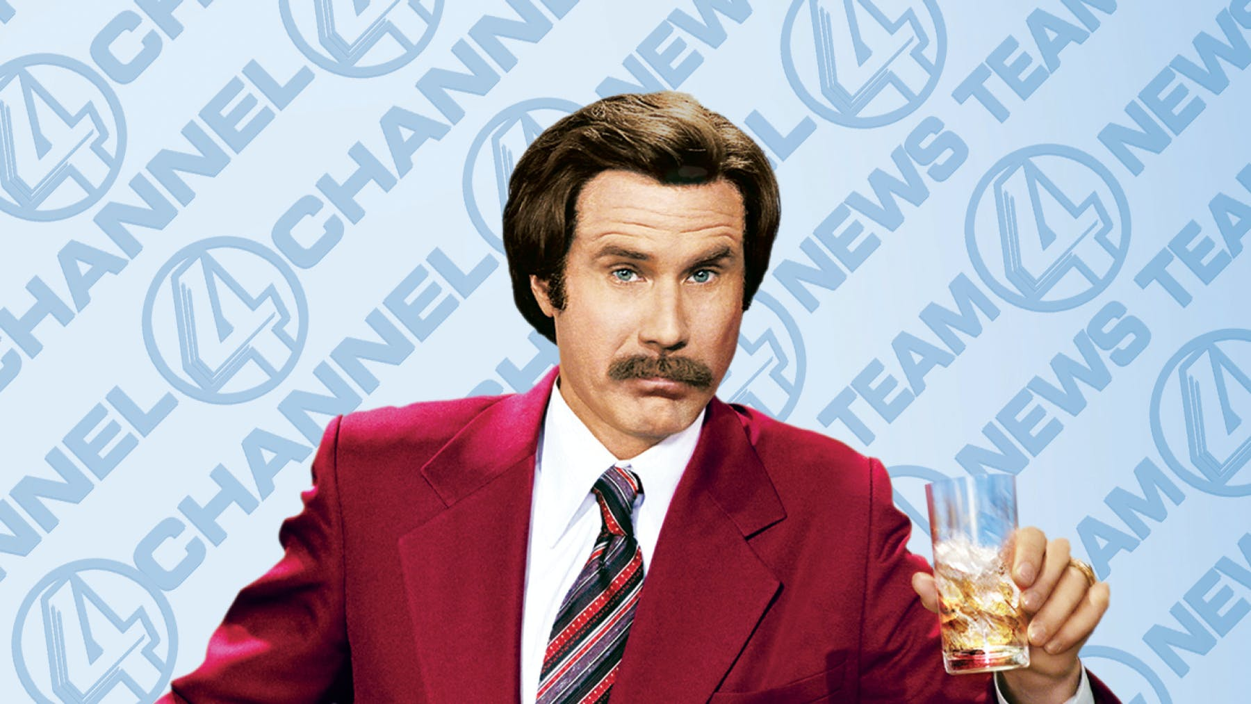 Will Ferrell wearing a suit and tie
