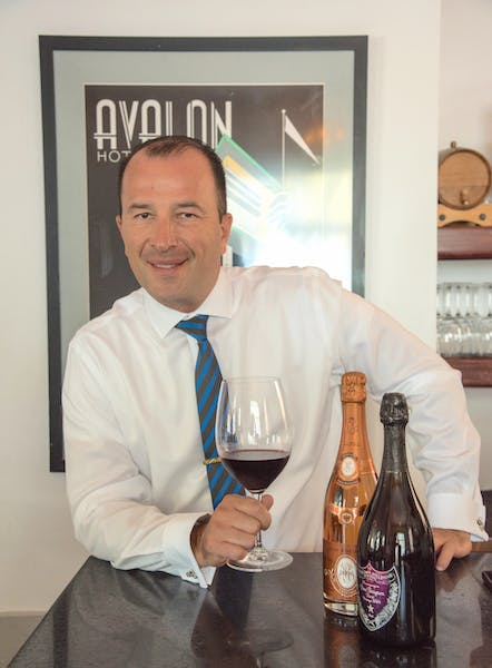 A Fish Called Avalon Food & Beverage Manager Pascal Pinault