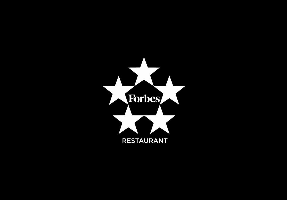Forbes Travel Guide Five-Star Restaurant logo