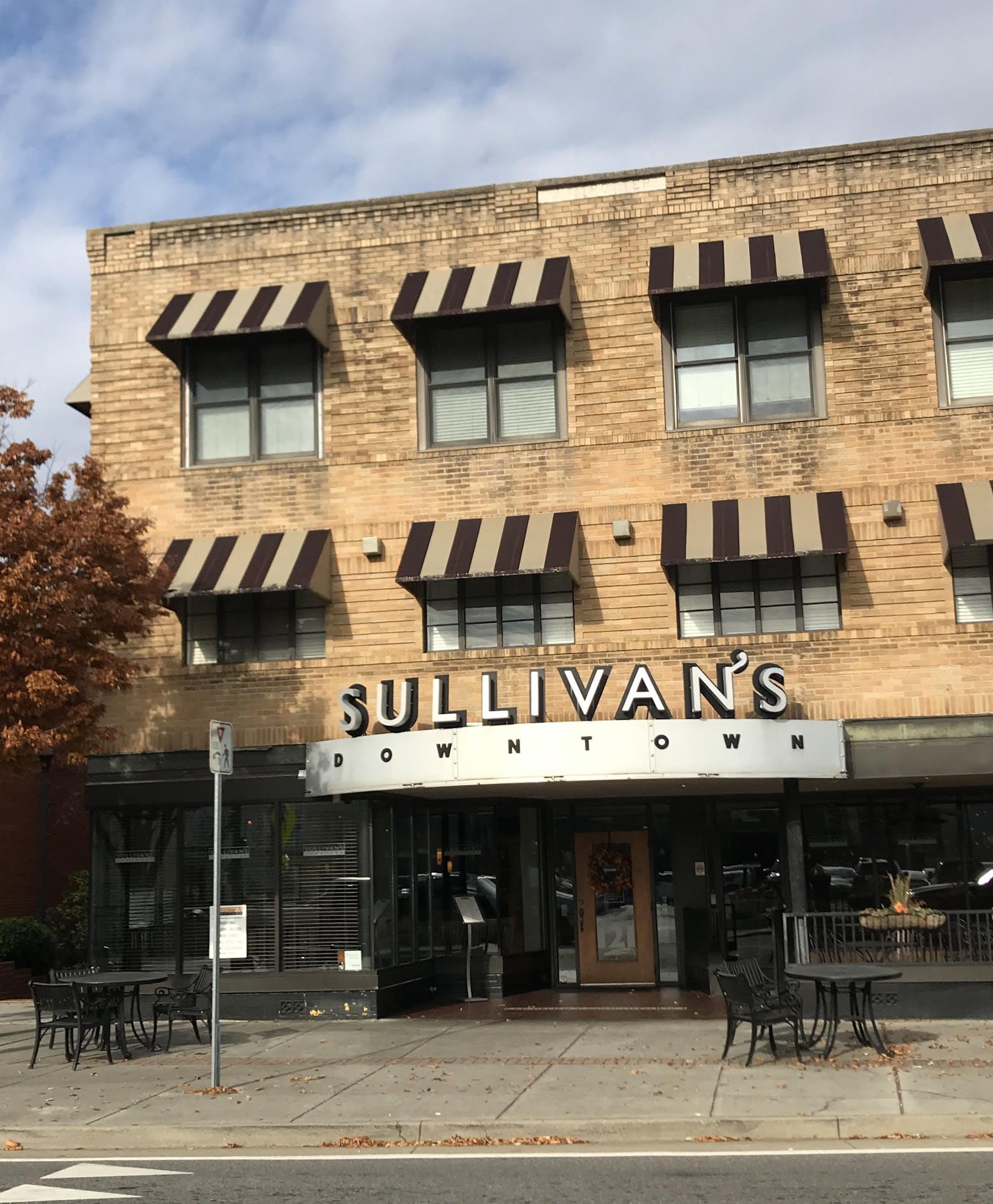 sullivan's restaurant building