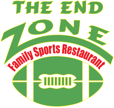 The End Zone logo with a football
