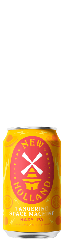 Tangerine Space Machine 12oz Can