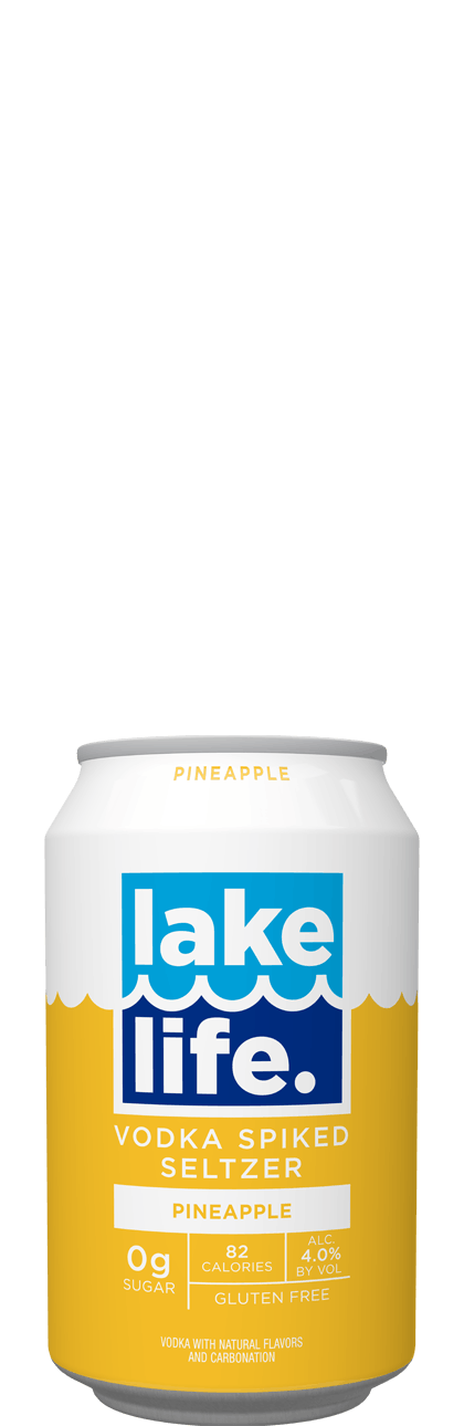 Lake Life Pineapple Seltzer