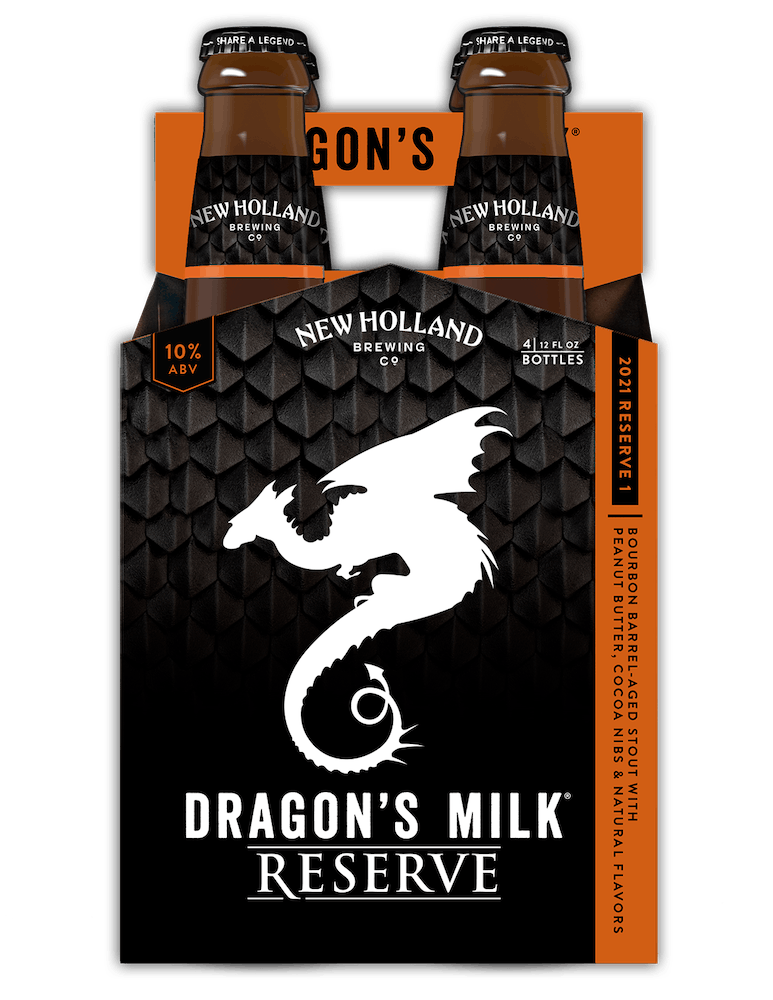 Dragon's Milk Reserve: Bourbon Barrel-Aged Stout with Peanut Butter & Cocoa Nibs