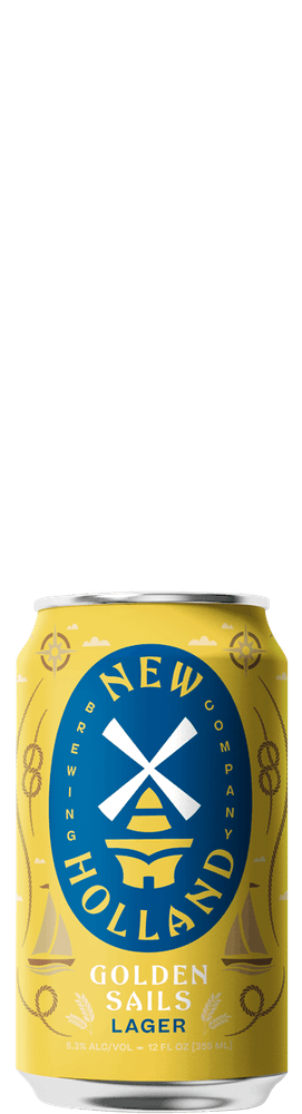 Golden Sails 12oz Can