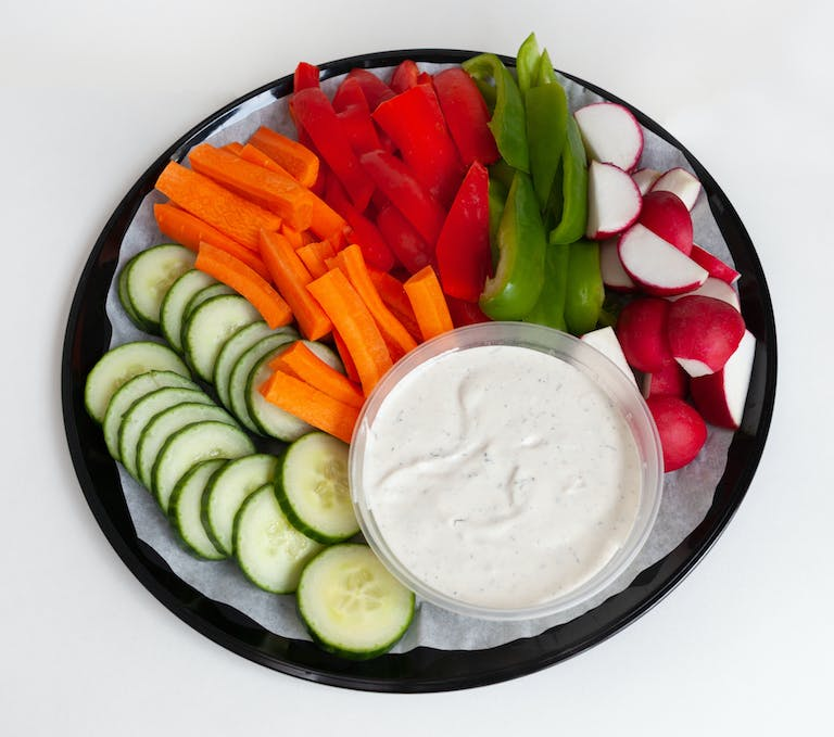 Crudite with ranch