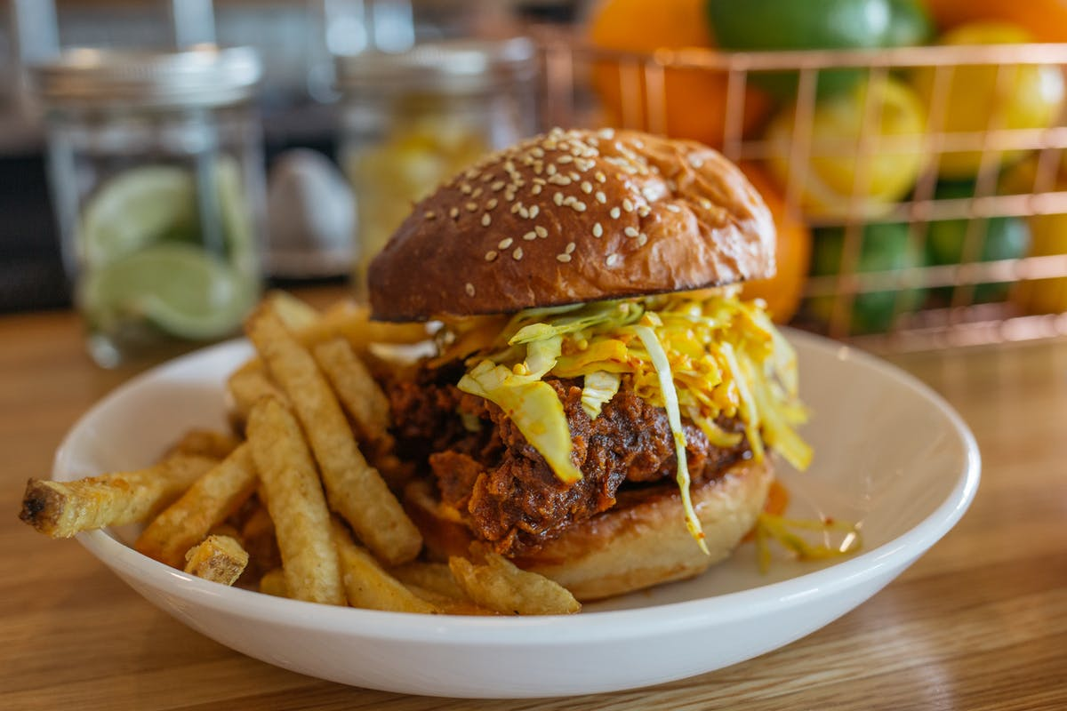 Cheese Burger, Burgers, Beer, Patio, Magnolia, Farm to Table, Southern Cuisine, Breakfast, Brunch, Lunch, Corey McEntyre, Magnolia Market, Local