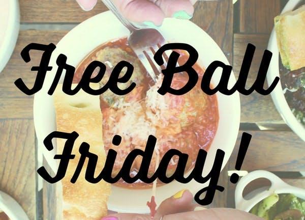 free ball announcement