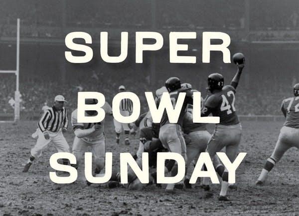 super bowl sunday sign