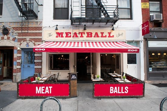 the meatball shop building