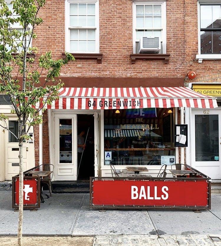 the meatball shop building