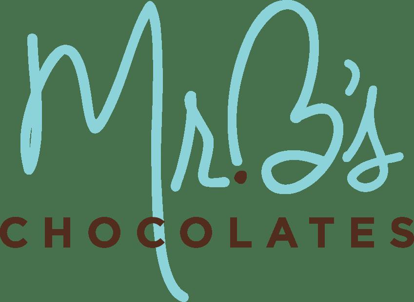 Mr. B's Chocolates Logo