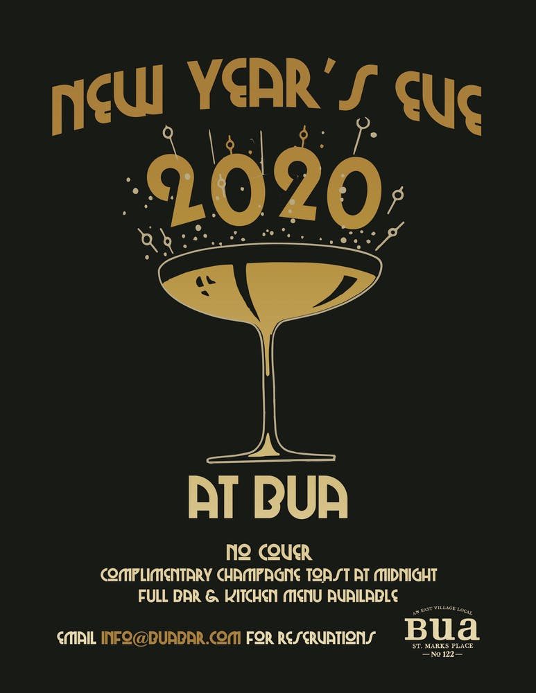 New Year's Eve 2020: No cover!