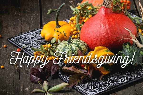 Autumn Gourd for Friendsgiving