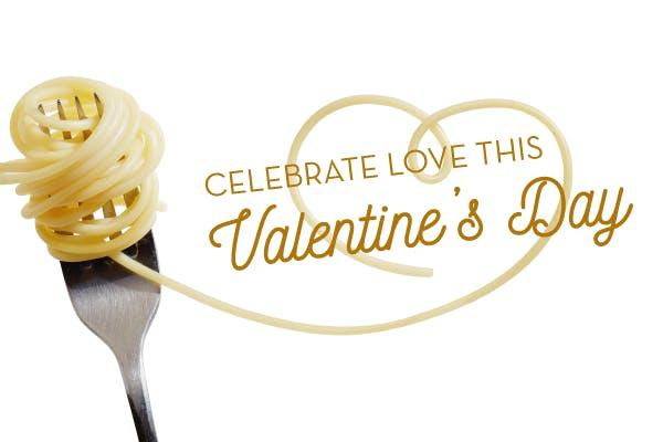 Pasta Love for Valentine's Day