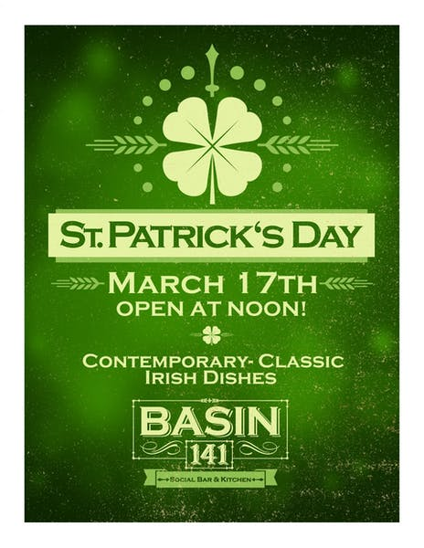 St Paddy's day Flyer