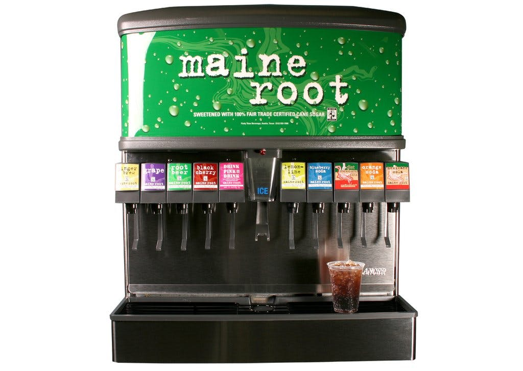 Maine Root Organic Soda & Drinks on Tap, fair trade cane sugar