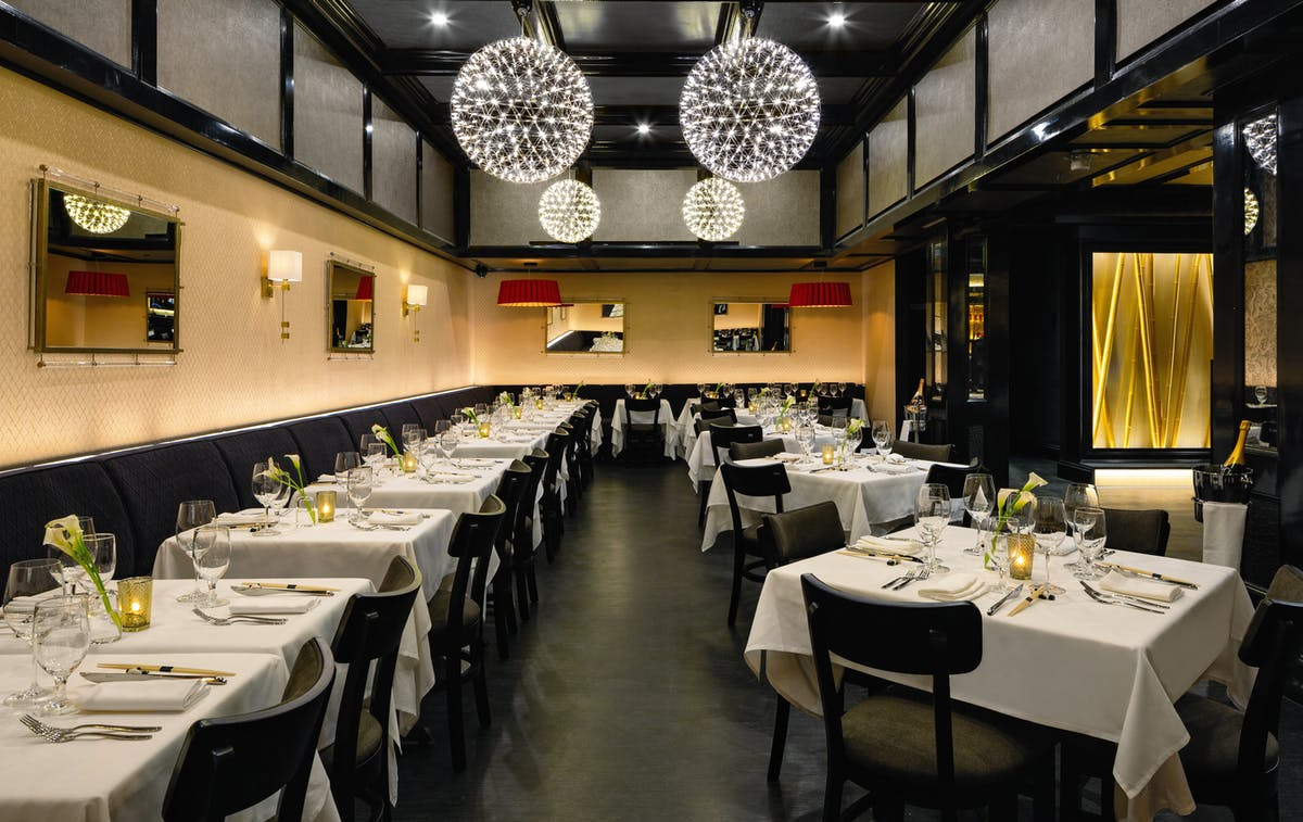 Main Dining Room at Philippe Downtown