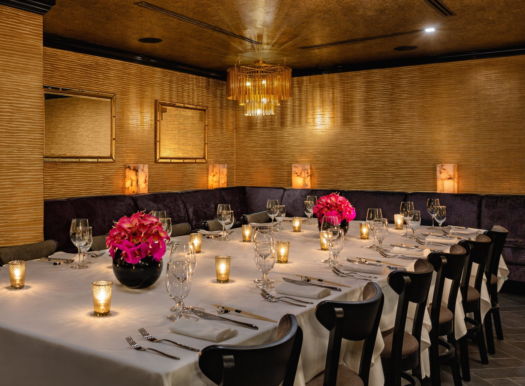 Emperor Private Dining Room at Philippe Chow Downtown