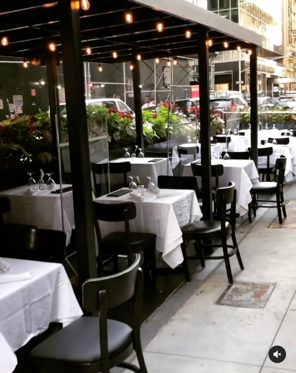 Uptown Outdoor Seating
