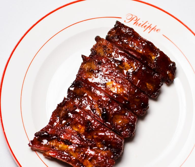 Philippe Chow Glazed Spare Ribs