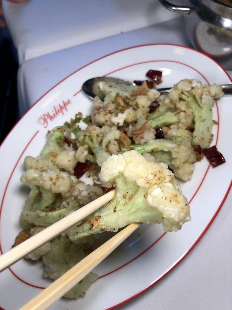 Crispy Cauliflower