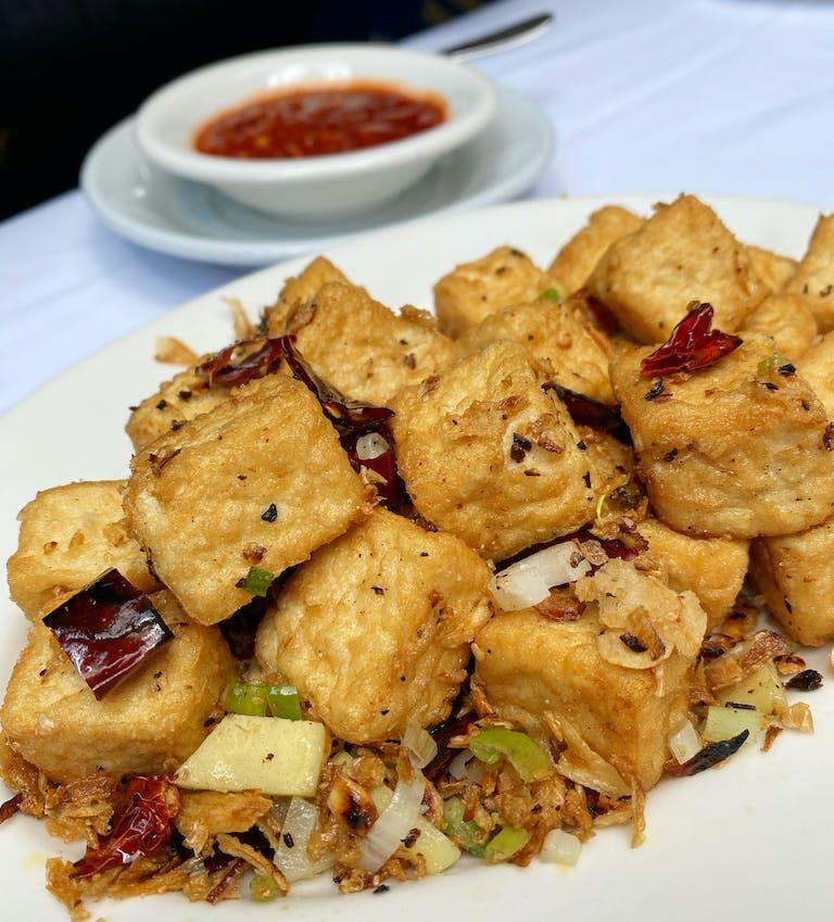 Salt & Pepper Tofu