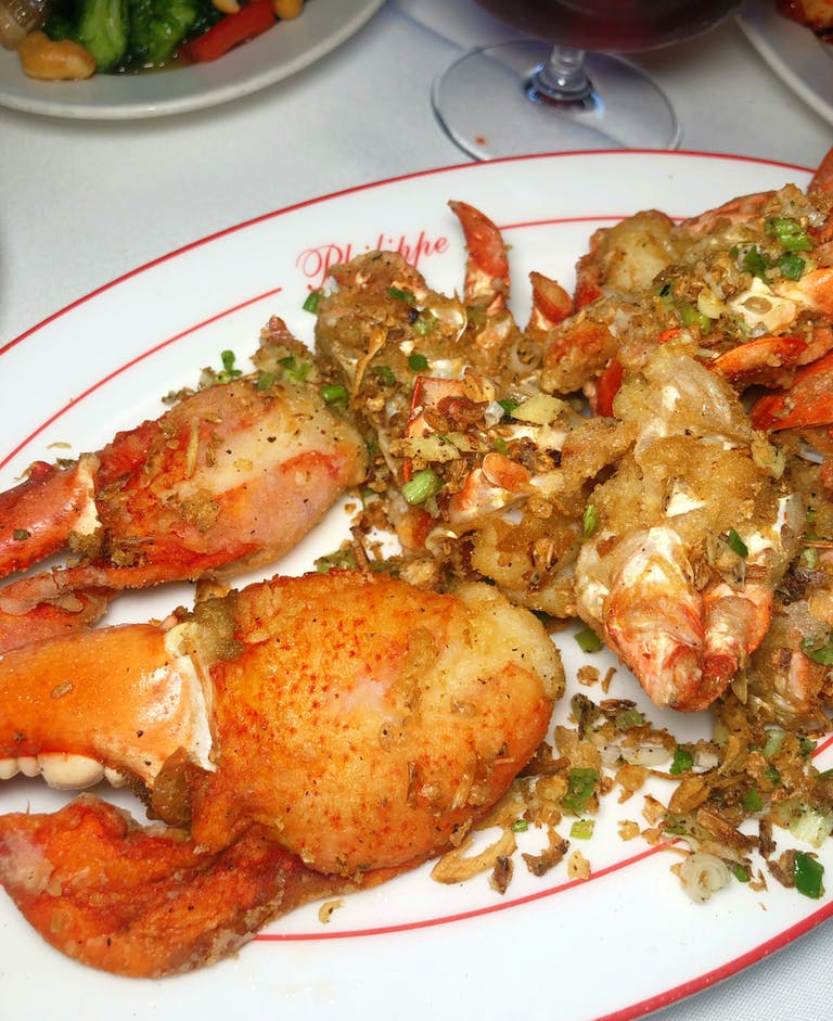 Salt & Pepper Lobster