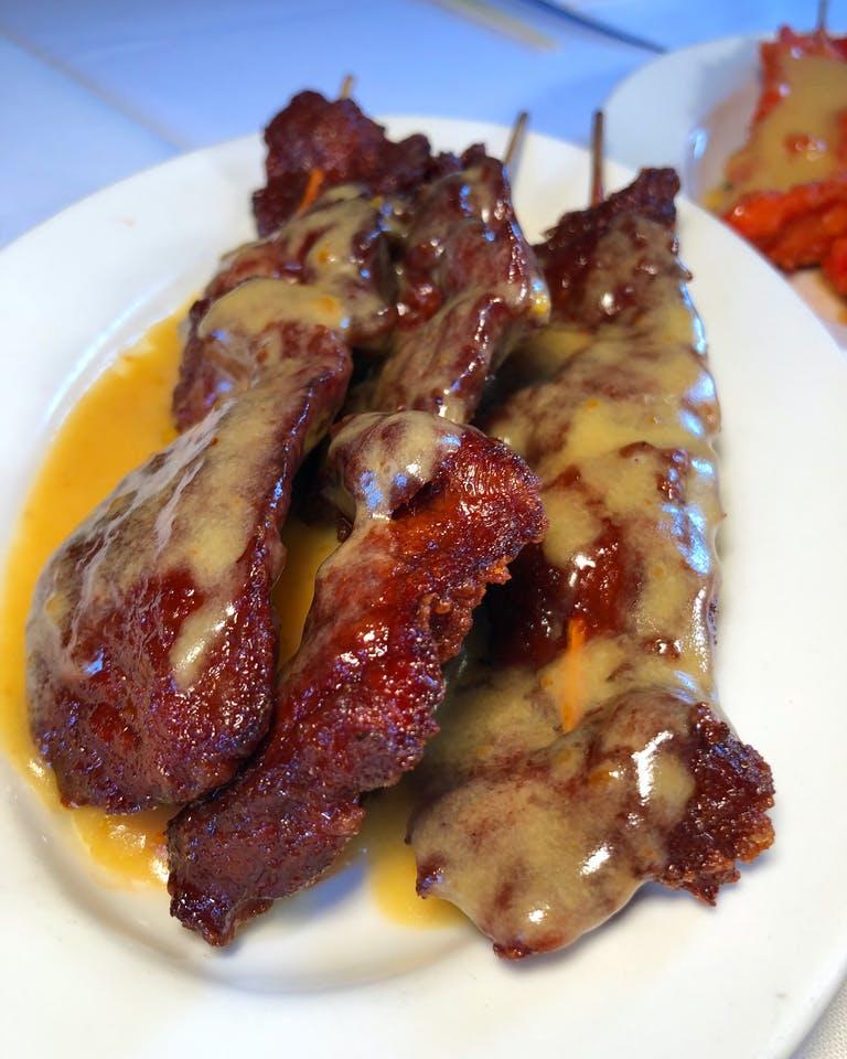Beef Satay Mini