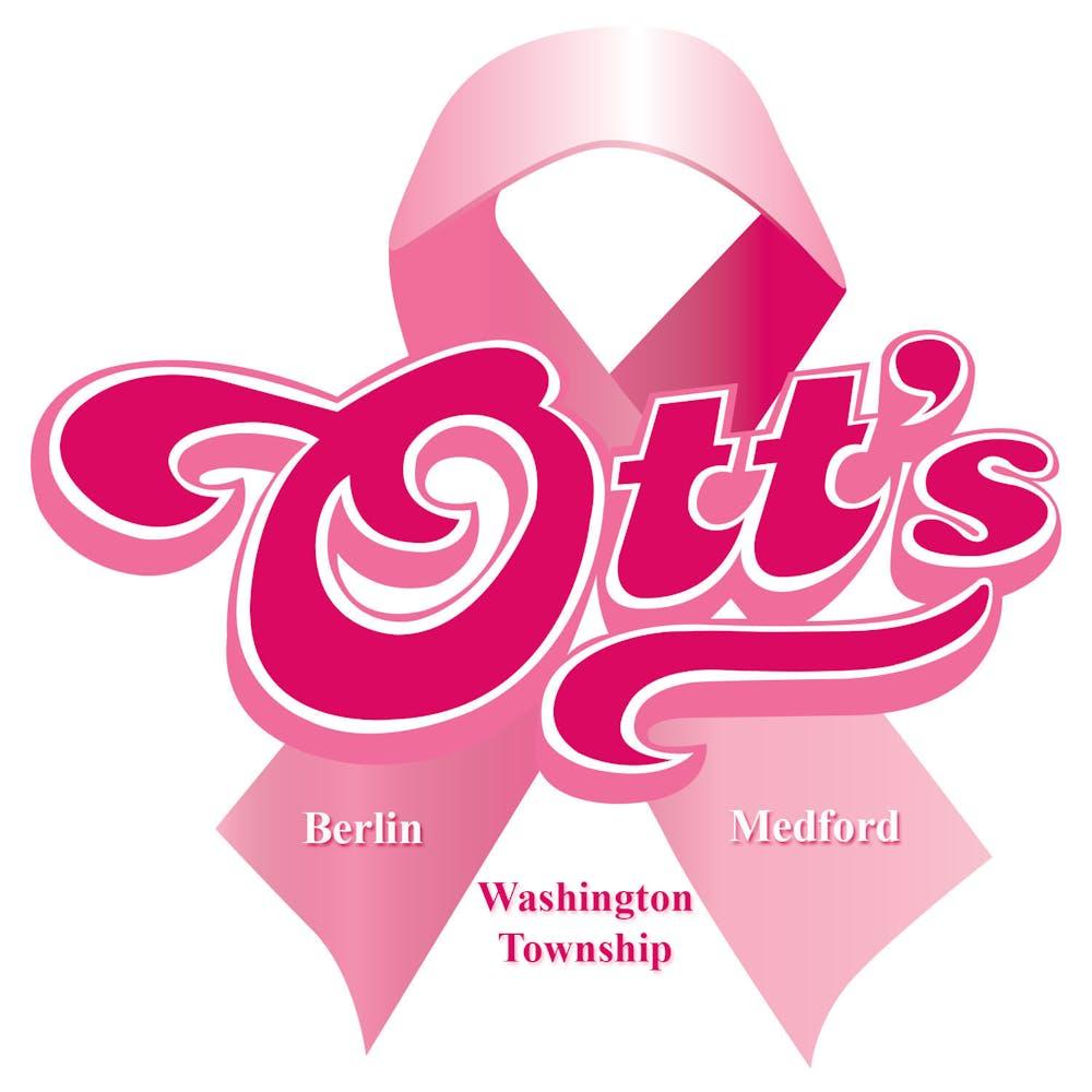 ott's pink ribbon logo