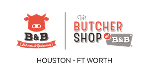 bb butchers & butchers shop logo