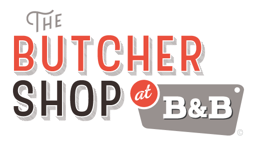 the butcher shop's logo
