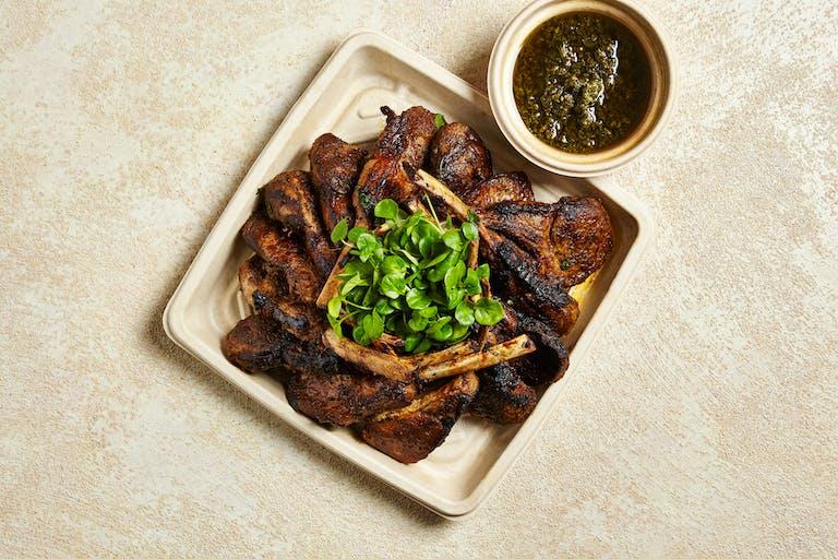 catering manhattan NYC Lebanese mediterranean food lamb chops