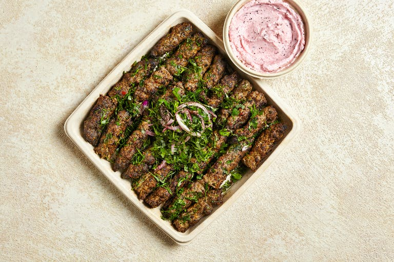 catering manhattan NYC Lebanese mediterranean healthy food kafta