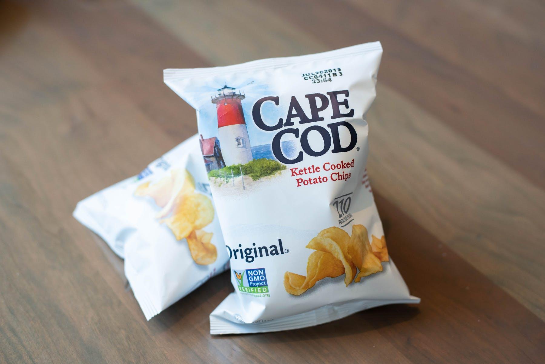 Cape Cod Potato Chips   Island Creek Oyster Bar