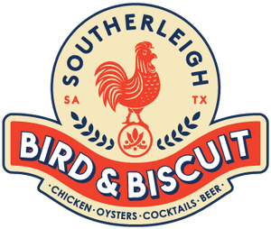 southerleigh bird and biscuit logo