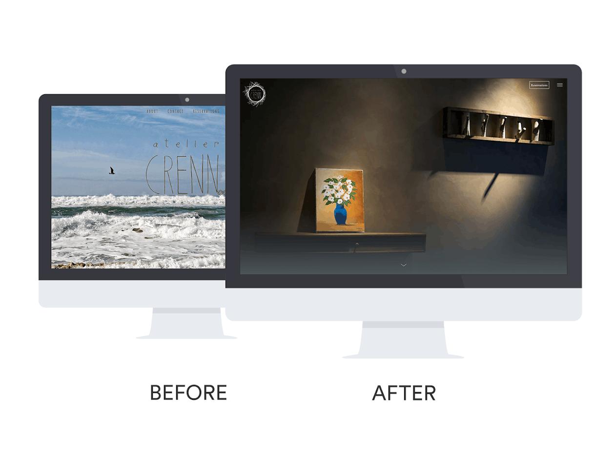Atelier Crenn Website