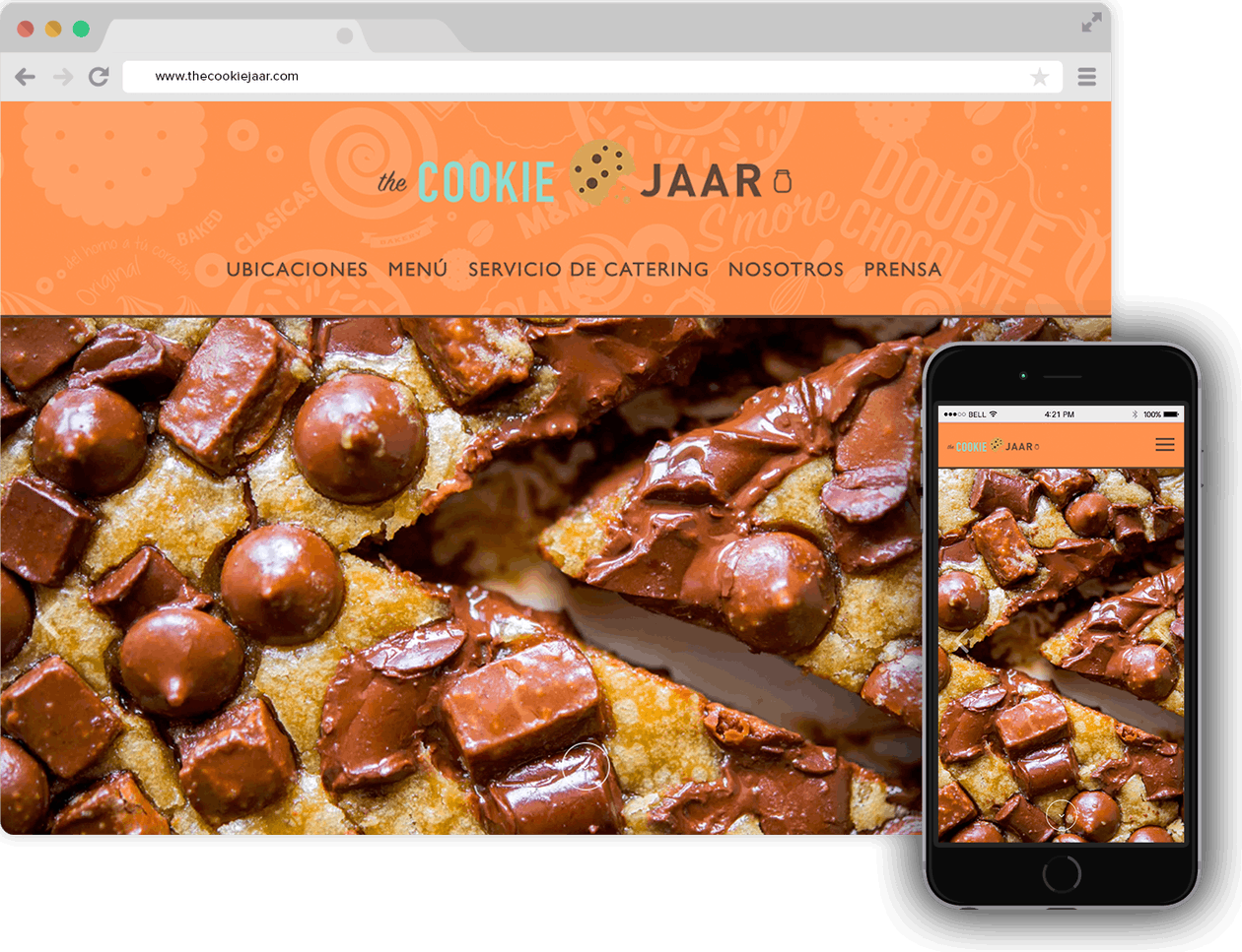 The Cookie Jaar hompage