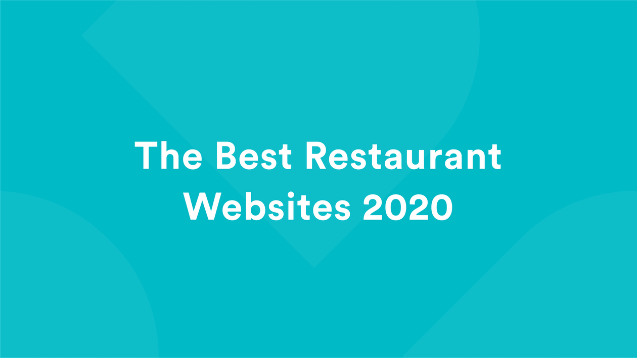 The Best Restaurant Websites 2020
