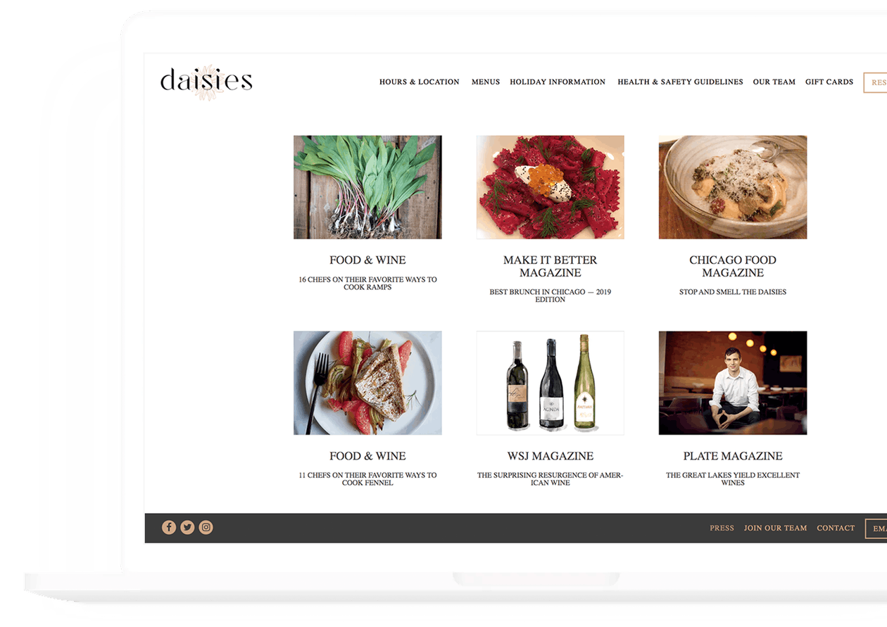 daisies - bentobox customer case study