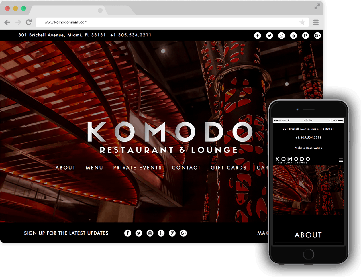 a screenshot of Kimodo homepage