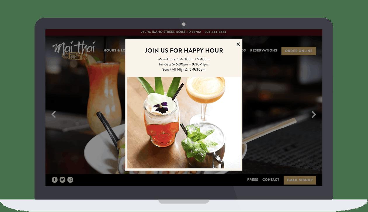 Mai Thai's website