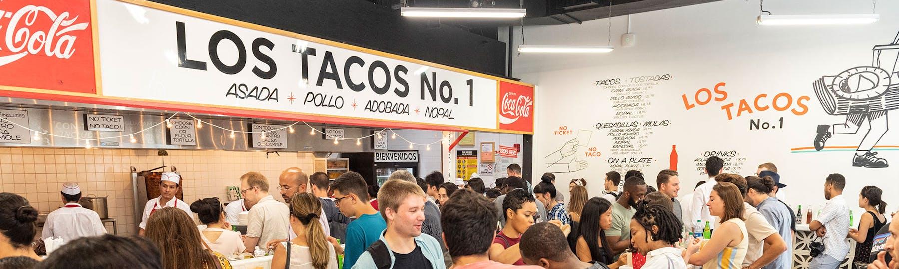 interior shot of Los Tacos No. 1