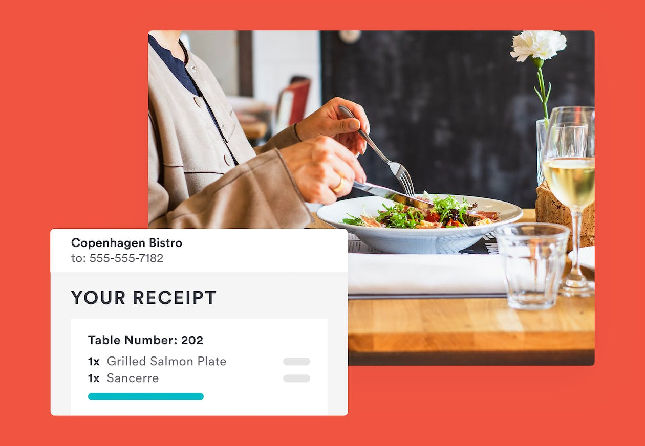 paperless payment by bentobox - dine-in ordering