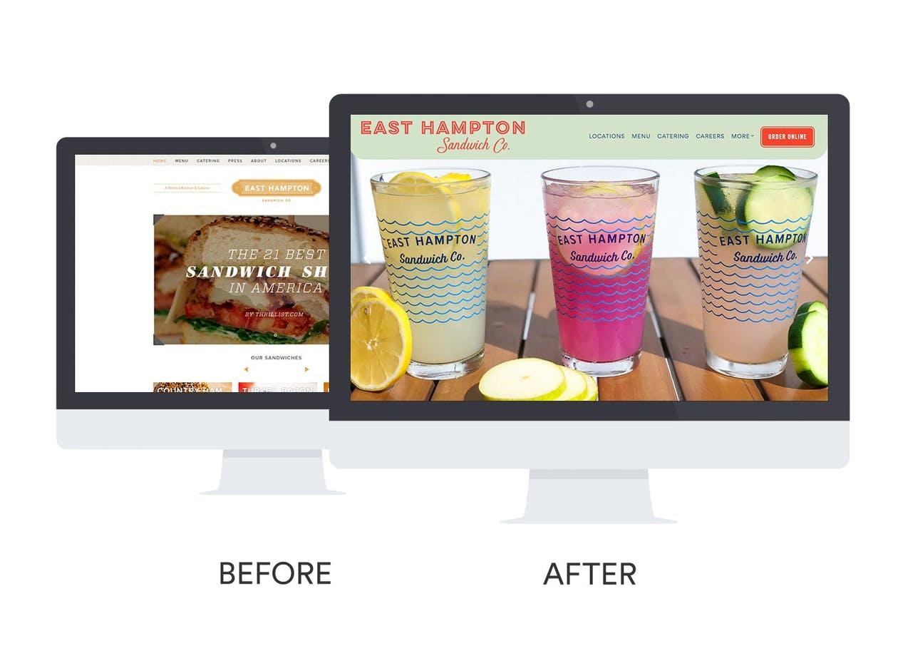 East Hampton Sandwich Co. website