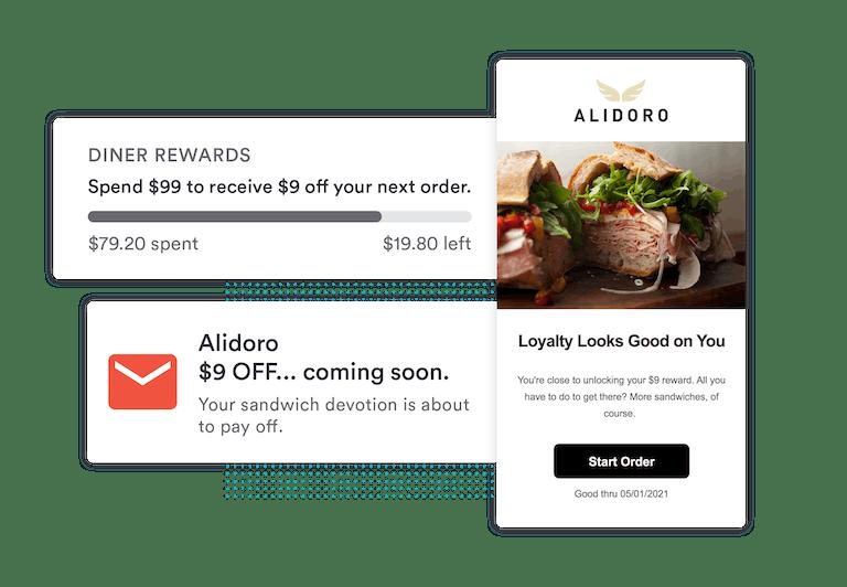 loyalty program - Alidoro - BentoBox Repeat Rewards